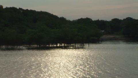 Brazil: travel on Amazon river 2 Stock Video Footage