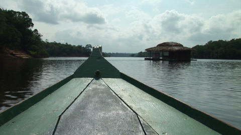 Brazil: travel on Amazon river 3 Stock Video Footage