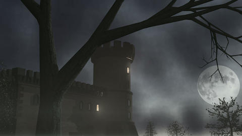 Haunted House 1 CGI-HD Animation