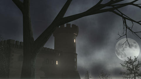 Haunted House 1 CGI-HD, Stock Animation