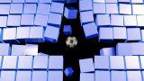 Soccerball Wall Zero Gravity Followcam CGI-HD Animation