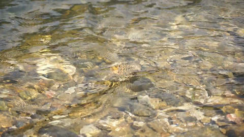 Water Stream Close Up 02 Stock Video Footage