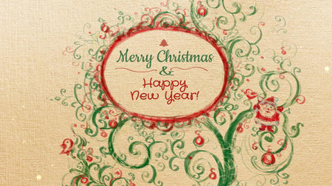 Christmas and New Year Video Card - 1