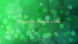St. Patricks Animated background Animation
