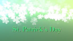 St. Patricks Animated background 動畫