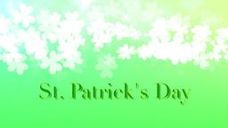 St. Patricks Animated background ภาพเคลื่อนไหว