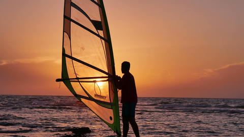 Windsurfing Live Action