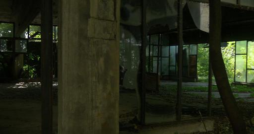 inside abandoned building Footage