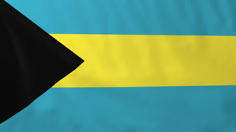 Flag of Bahamas Animation