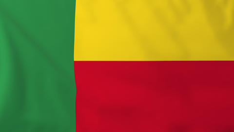 Flag of Benin Animation