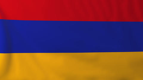 Flag of Armenia Animation