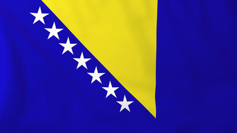 Flag of Bosnia/Herzegovina Animation