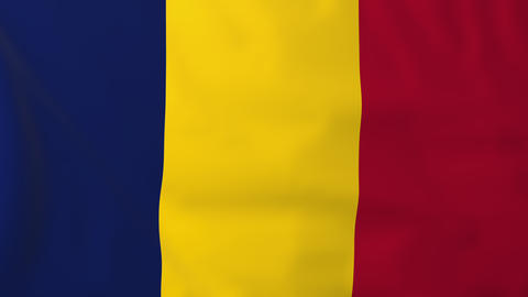 Flag of Chad Animation