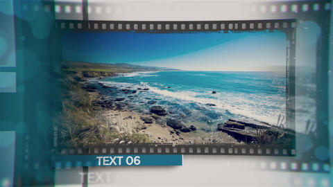 Frame Memory After Effects Template