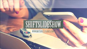 SHIFT slideshow After Effects Template