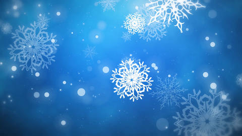 Colorful Snowflakes Backgrounds