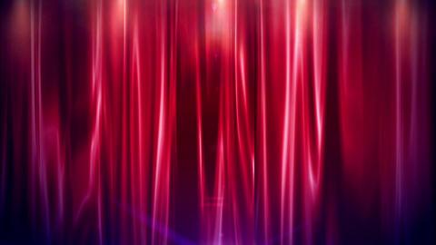 Curtain Open FullHD Animation