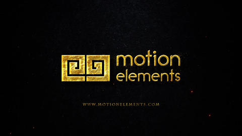 BURNED LOGO After Effects Template