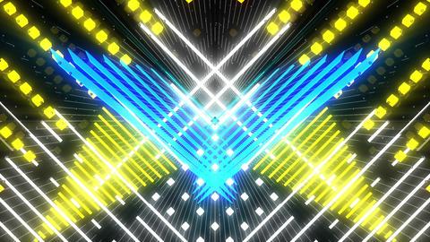 VJ Loops Color Symmetry
