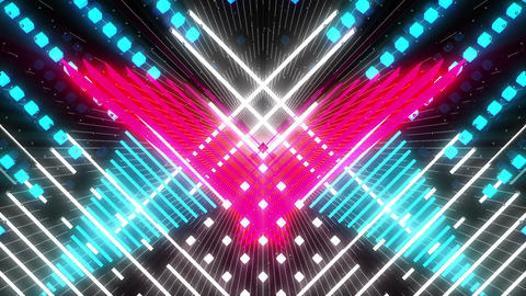 VJ Loop Color Symmetry 10 Animation