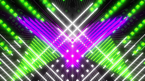 VJ Loops Color Symmetry 2