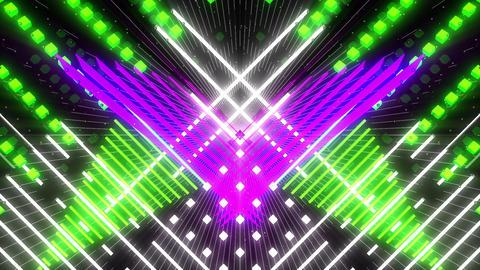 VJ Loops Color Symmetry 2