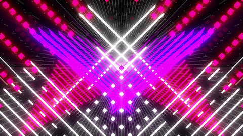 VJ Loop Color Symmetry 7 Animation