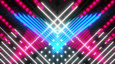 VJ Loop Color Symmetry 8 Animation