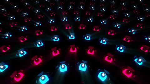 VJ Loops Color LEDs