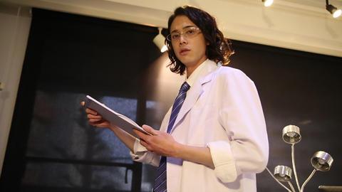 Handsome doctor Footage