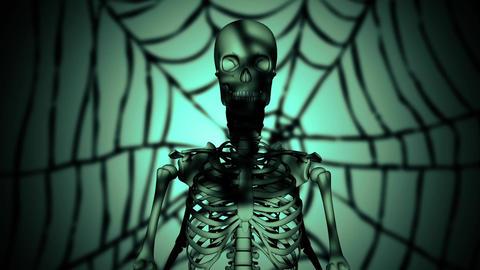 skeleton horror Animation