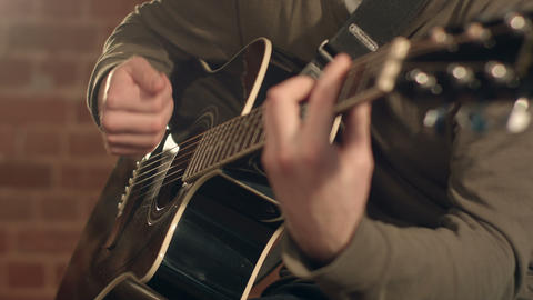 play the guitar Footage