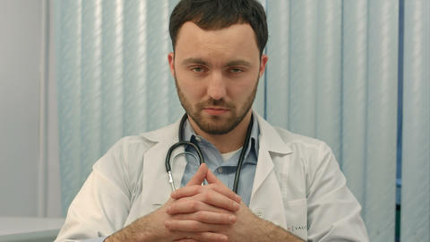 Doctor is giving bad news Live Action