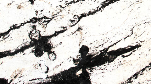 Tracking Shot of High Contrast Grunge Texture Footage