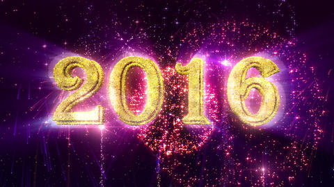 2016 New Year animation Animation