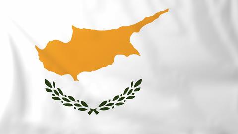 Flag of Cyprus Animation