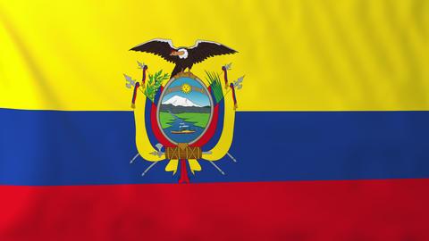 Flag of Ecuador Animation
