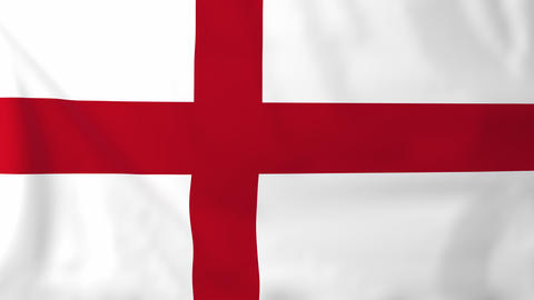 Flag of England Animation