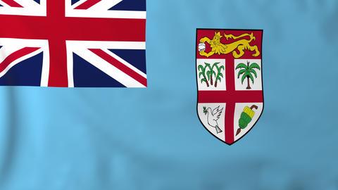 Flag of Fiji Animation