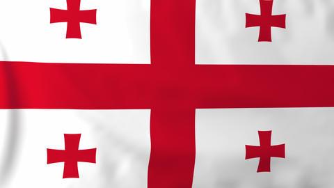 Flag of Georgia Animation