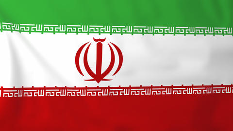 Flag of Iran Animation