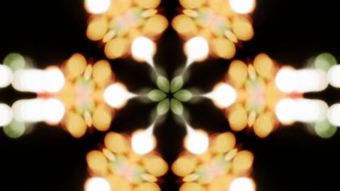 Shiny Bokeh Kaleidoscope Background Animation