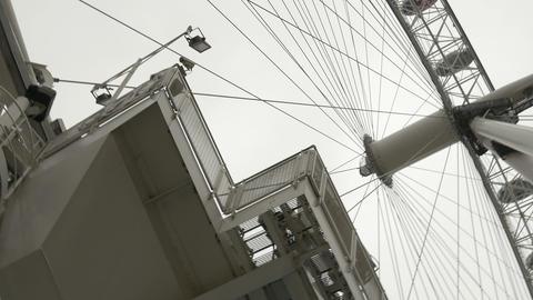 London Wheel Booths Footage