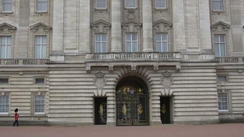 Buckingham Palace Entrance Footage