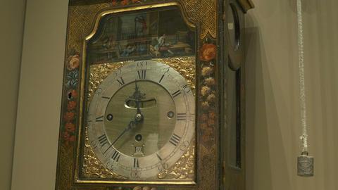 Old Bracket Clock Footage