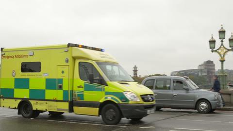 Emergency Ambulance in London Footage
