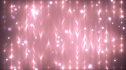 Moving Gloss Particles On Pink Background Animation