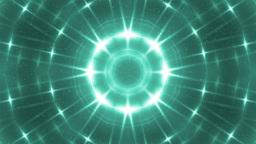 Glitter stars circles on neon background Animation