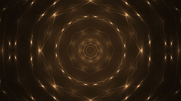 Glitter stars circles on orange background Animation