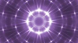 Glitter Stars Circles On Violet Background stock footage